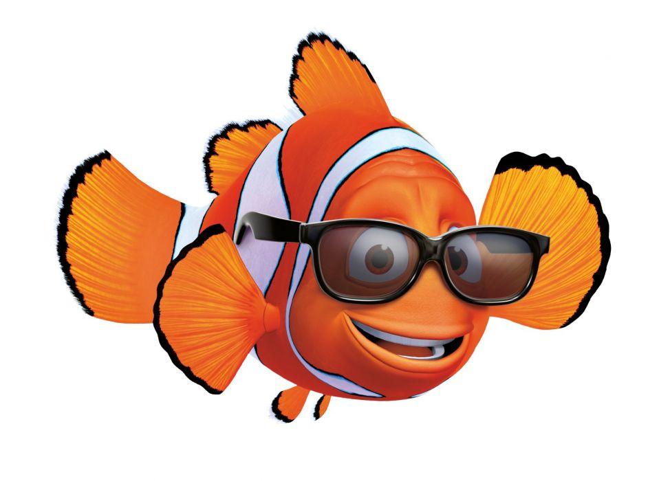 FINDING NEMO animation underwater sea ocean tropical fish adventure family comedy drama disney 1finding-nemo glasses wallpaper