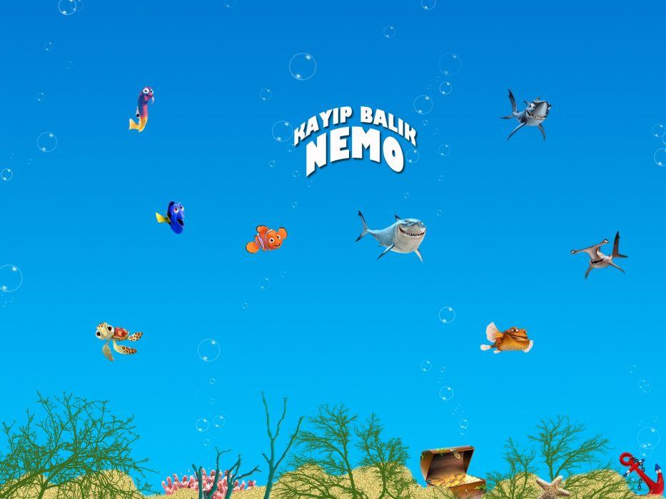 FINDING NEMO animation underwater sea ocean tropical fish adventure family comedy drama disney 1finding-nemo wallpaper