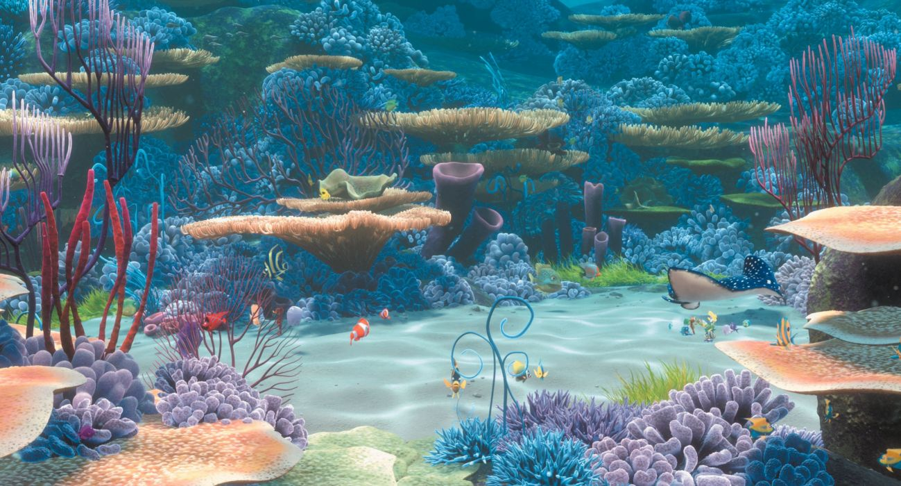 finding nemo animation underwater sea ocean tropical fish adventure