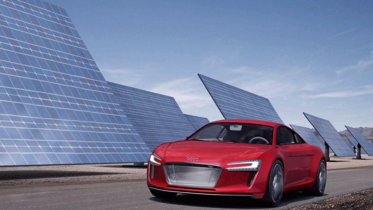 Audi e-tron e tron concept car vehicle quattro wallpaper