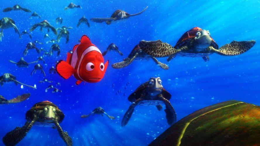 Nemo Turtle Wallpaper 91270 Loadtve