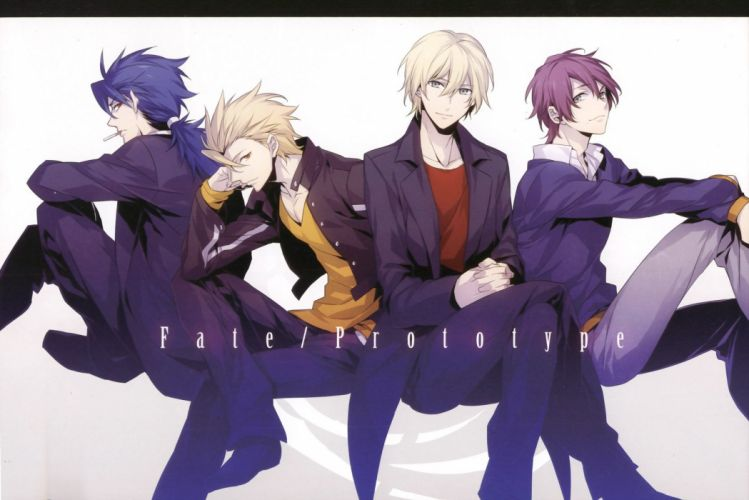 fate stay night male anime series wallpaper