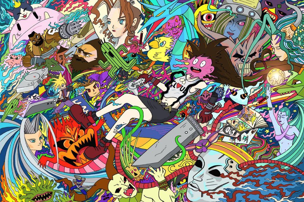 Final Fantasy fan art wallpaper