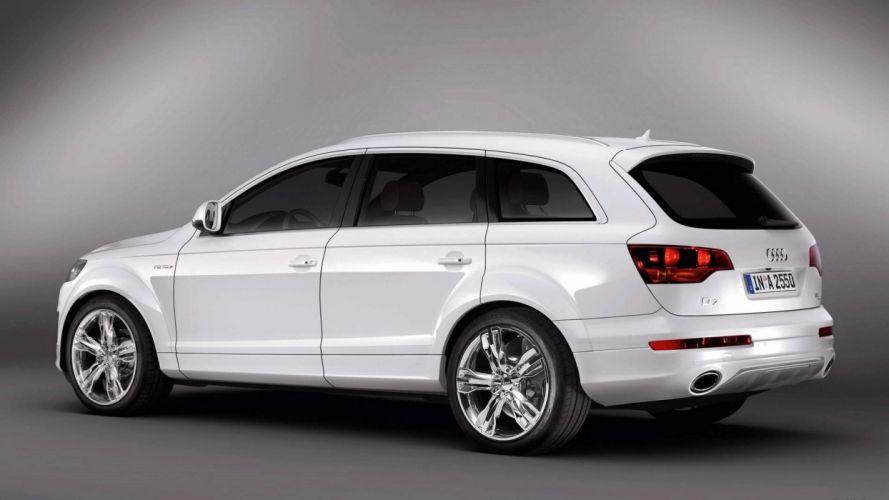 Audi Q7 V12 TDI car vehicle suv quattro wallpaper