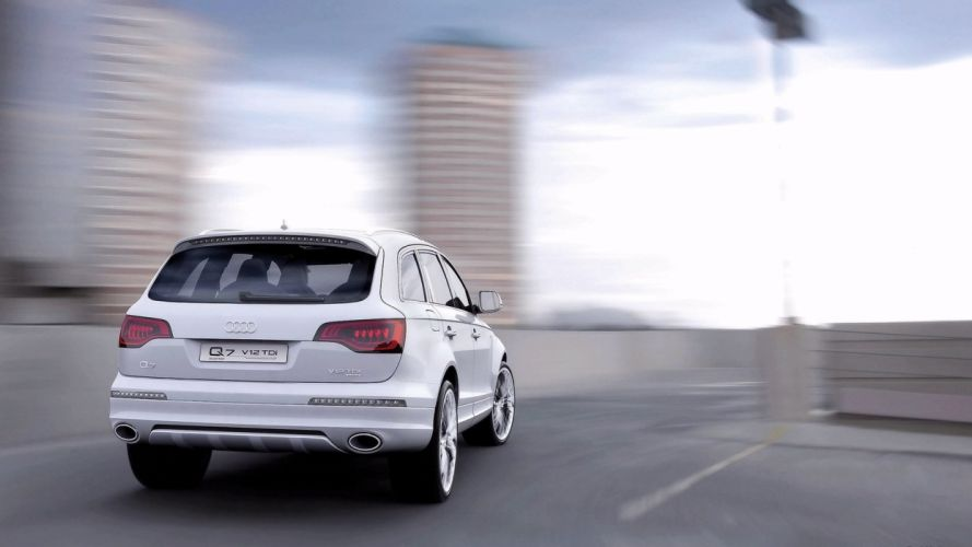 Audi Q7 V12 TDI car vehicle suv quattro wallpaper