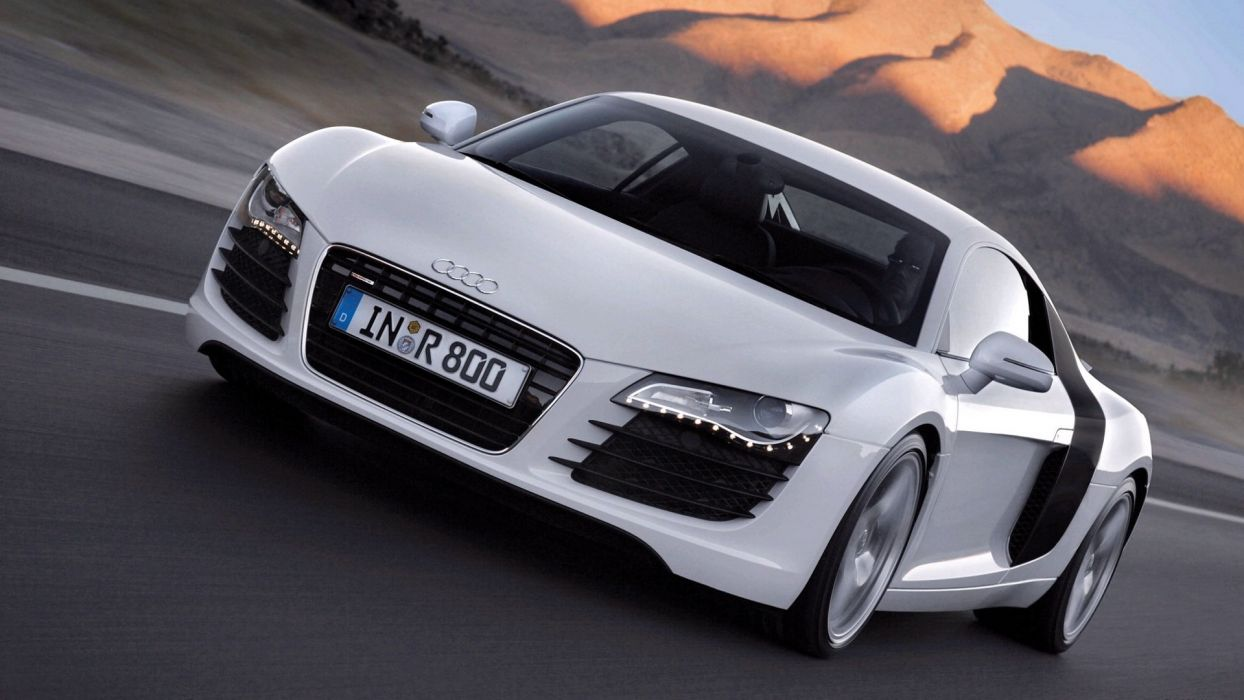 Audi R8 V10 FSI car vehicle quattro wallpaper