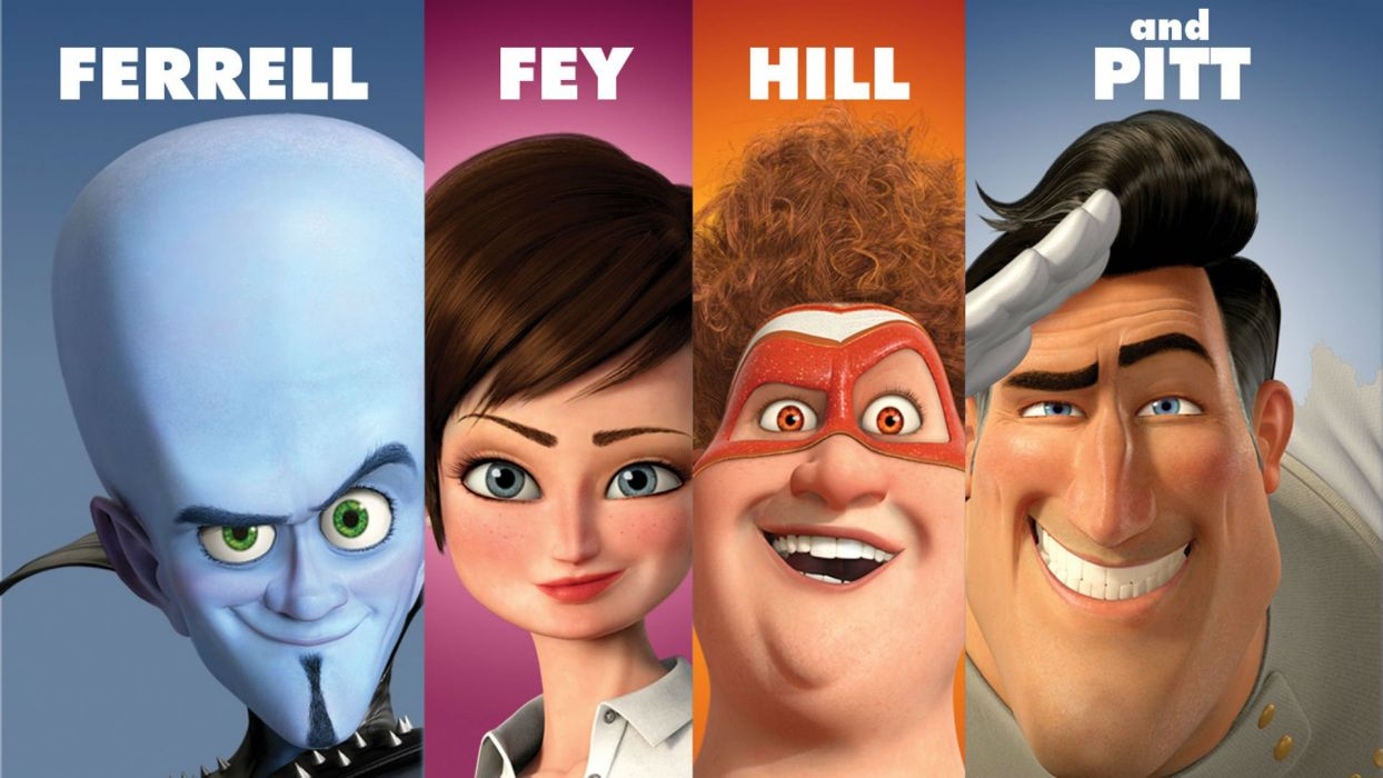 MEGAMIND animation comedy action family superhero alien sci-fi wallpaper