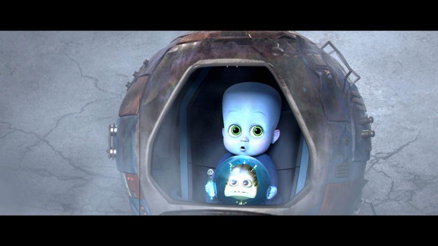 MEGAMIND animation comedy action family superhero alien sci-fi baby wallpaper