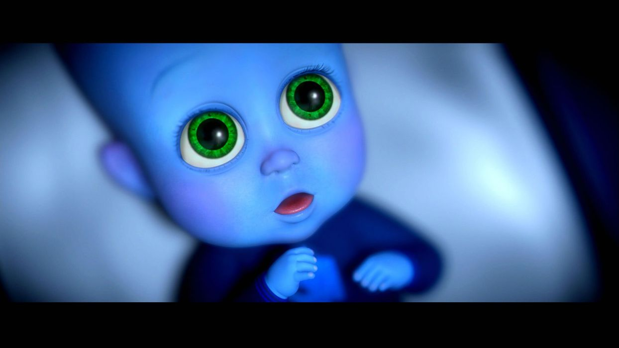 MEGAMIND animation comedy action family superhero alien sci-fi baby wallpaper