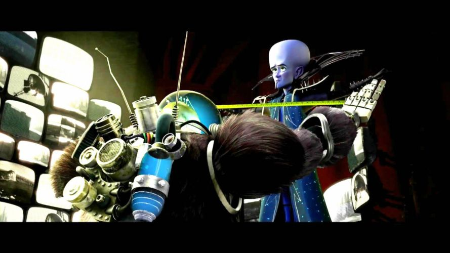 MEGAMIND animation comedy action family superhero alien sci-fi robot wallpaper