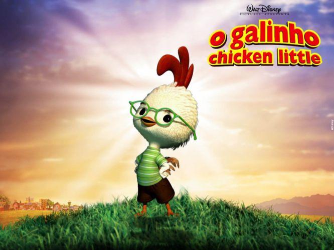 CHICKEN LITTLE animation comedy adventure family dismey chicken-little bird wallpaper