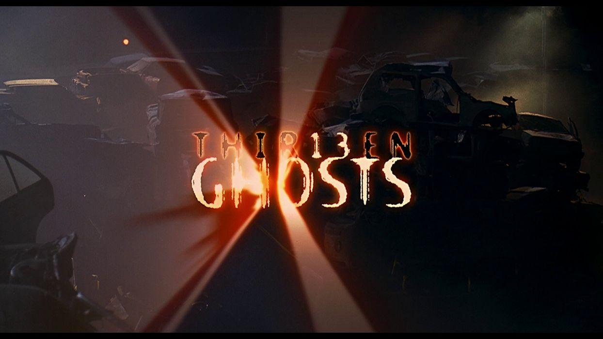 13GHOSTS horror mystery thriller dark thir13en ghosts ghost supernatural scary evil demon blood poster wallpaper