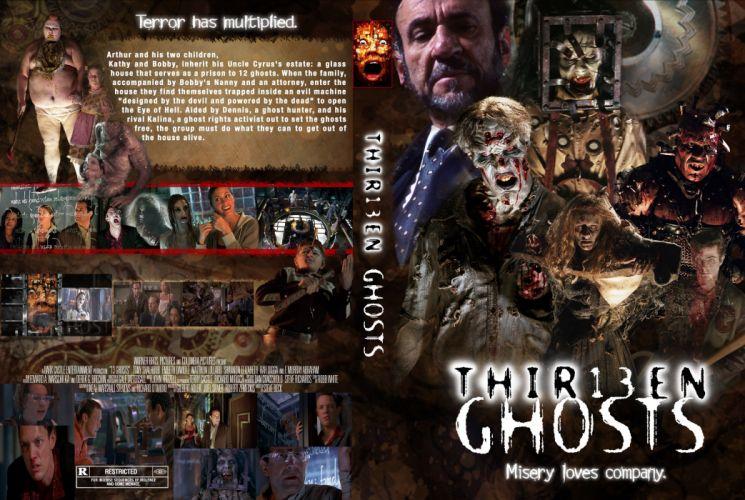 13GHOSTS horror mystery thriller dark thir13en ghosts ghost supernatural scary evil demon poster wallpaper