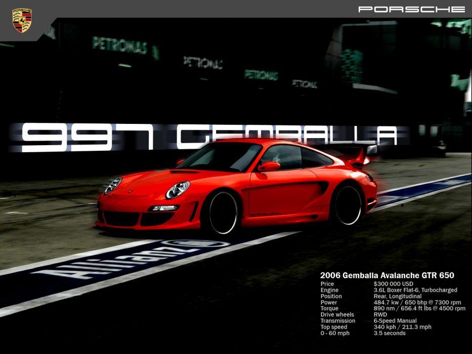 2006 Gemballa GTR 650 wallpaper