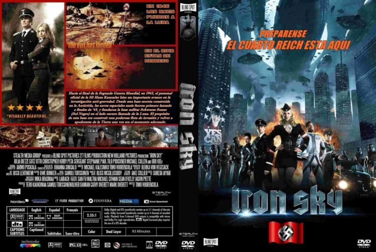 IRON SKY action comedy sci-fi nazi war comics futuristic cgi disney military horror 1ironsky apocalyptic fantasy dark wallpaper