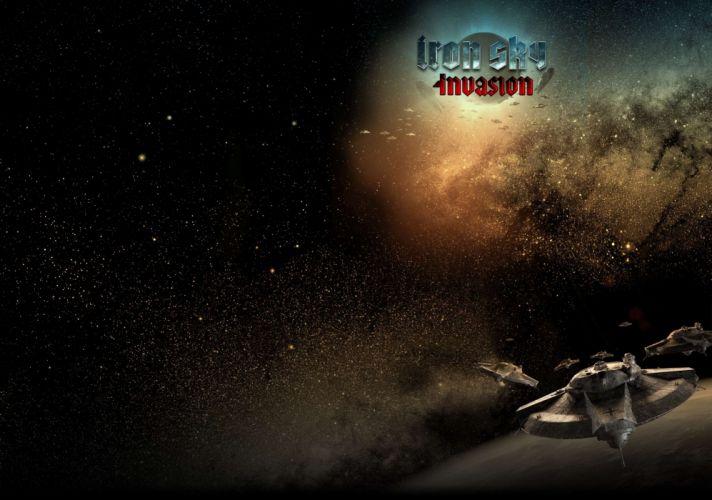IRON SKY action comedy sci-fi nazi war comics futuristic cgi disney military horror 1ironsky apocalyptic fantasy dark space spaceship wallpaper
