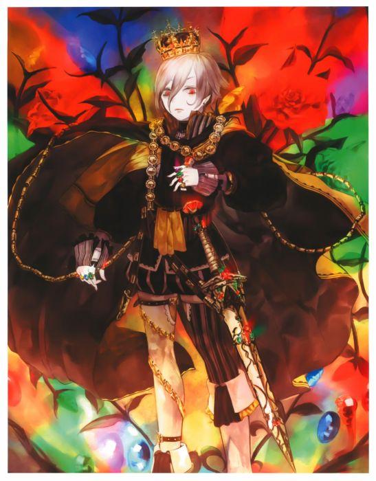 hakus kaku-san-sei million arthur male sword wallpaper