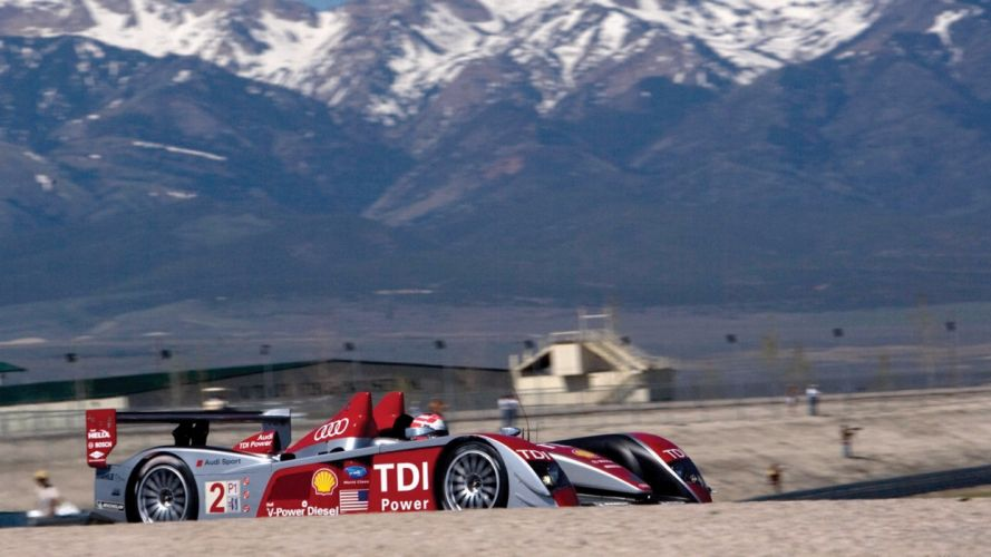 Audi R10 car vehicle sport race LeMans wallpaper