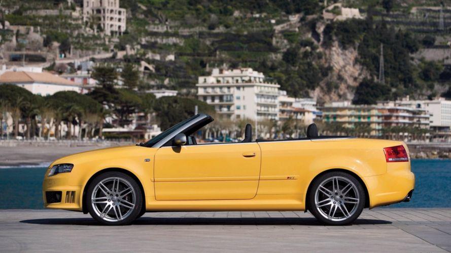 Audi RS4 car vehicle wallpaper