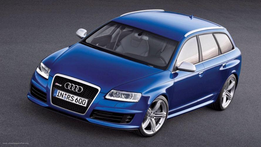 Audi RS6 car vehicle wallpaper