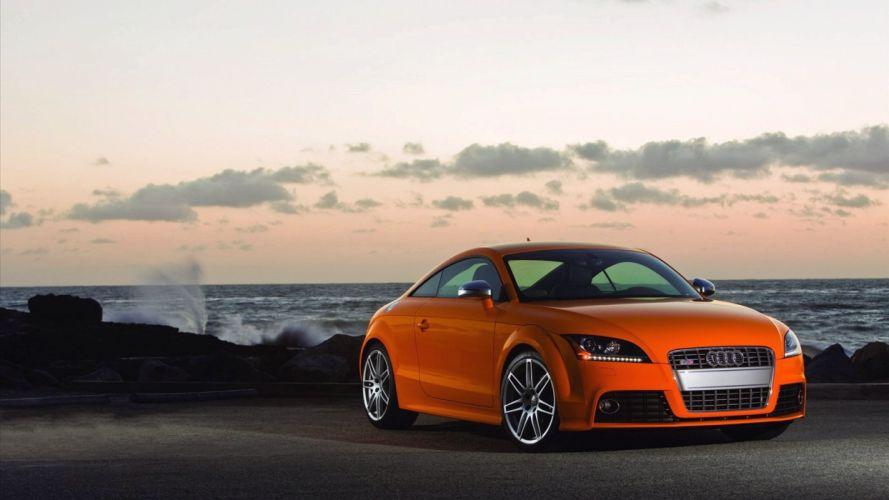 Audi TT car vehicle quattro wallpaper