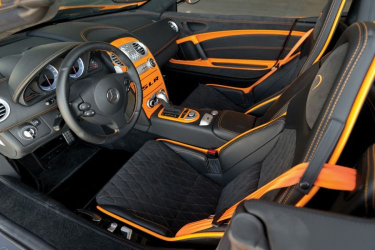 Mercedes Benz SLR McLaren Roadster 722S McLaren AUdition supercar cars wallpaper
