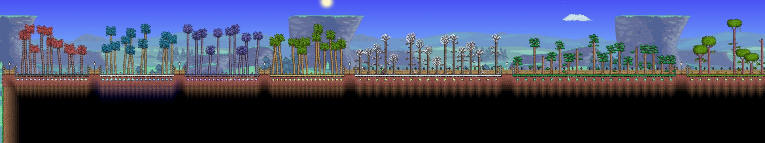 triple monitor multi multiple screen game jeu videogame terraria wallpaper