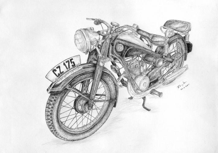 Cezeta - Motorcycle CZ 175 wallpaper