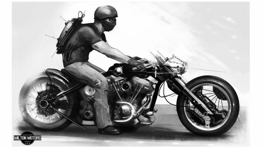 Tokyo rider wallpaper
