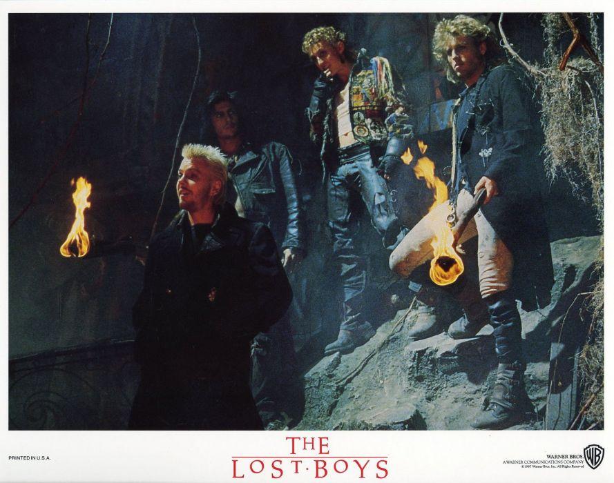 LOST BOYS dark horror comedy vampire lostboys wallpaper