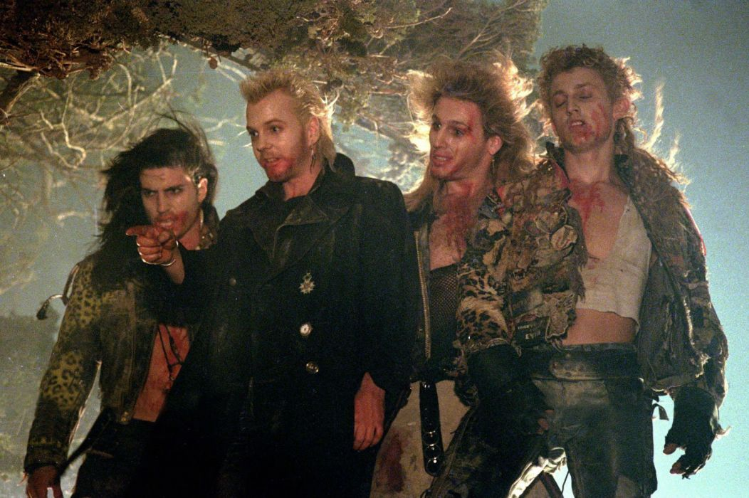 LOST BOYS dark horror comedy vampire lostboys blood wallpaper
