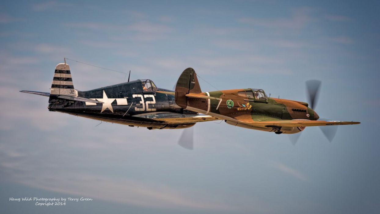 aeroplane aircraft airplanes airshow american Fighter Flight Flying North war Grumman F6F Hellcat wallpaper