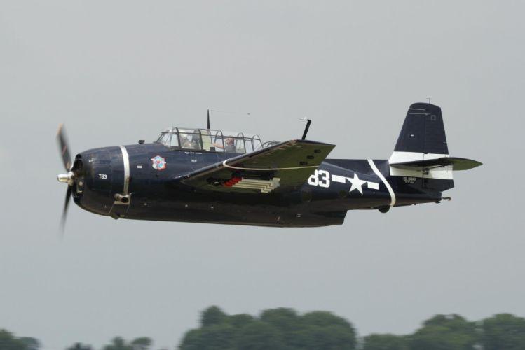 aeroplane american Fighter Flight Flying war Grumman aircraft airplanes airshow TBM Avenger torpedo bomber wallpaper