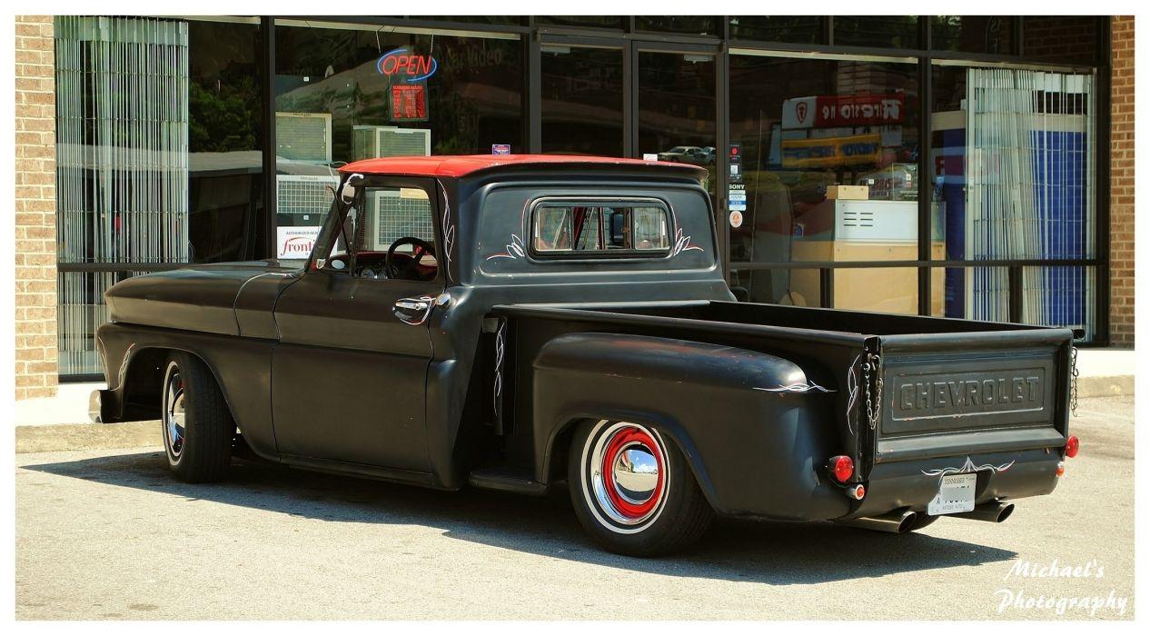 A Cool Primer Chevy Truck Wallpaper 2260x1250 570200