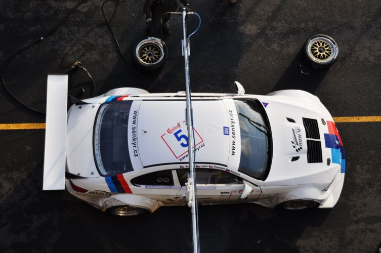 BMW M3 E92 from above wallpaper