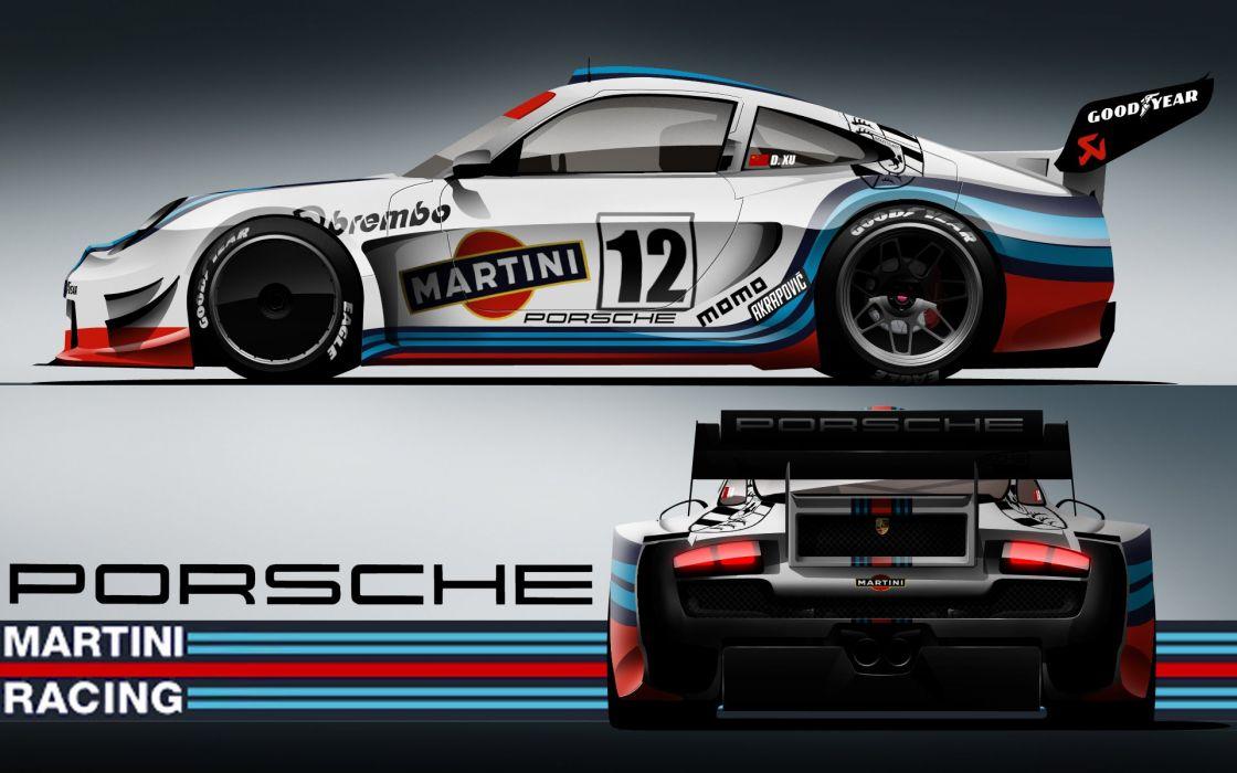 Martini racing porsche wallpaper
