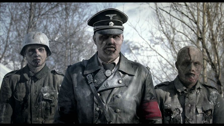 DEAD SNOW horror comedy dark nazi zombie deadsnow blood wallpaper