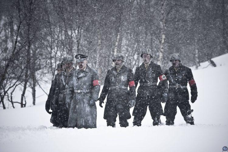 DEAD SNOW horror comedy dark nazi zombie deadsnow wallpaper