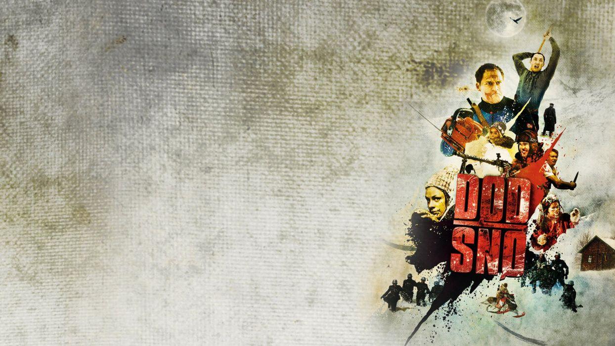DEAD SNOW horror comedy dark nazi zombie deadsnow poster wallpaper