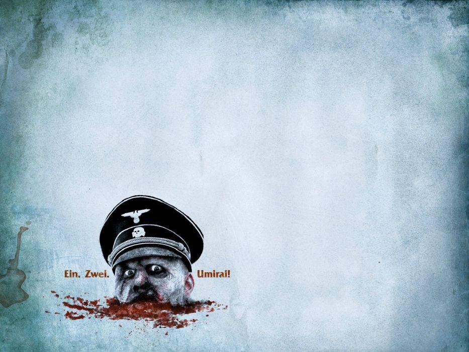 DEAD SNOW horror comedy dark nazi zombie deadsnow blood wallpaper