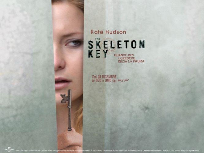 SKELETON KEY horror dark drama mystery voodoo supernatural 1skeletonkey skeletonkey poster kate hudson wallpaper