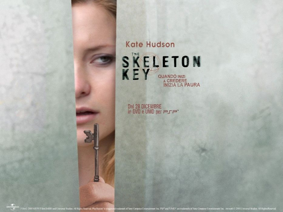 SKELETON KEY horror dark drama mystery voodoo supernatural 1skeletonkey skeletonkey poster kate hudson wallpaper