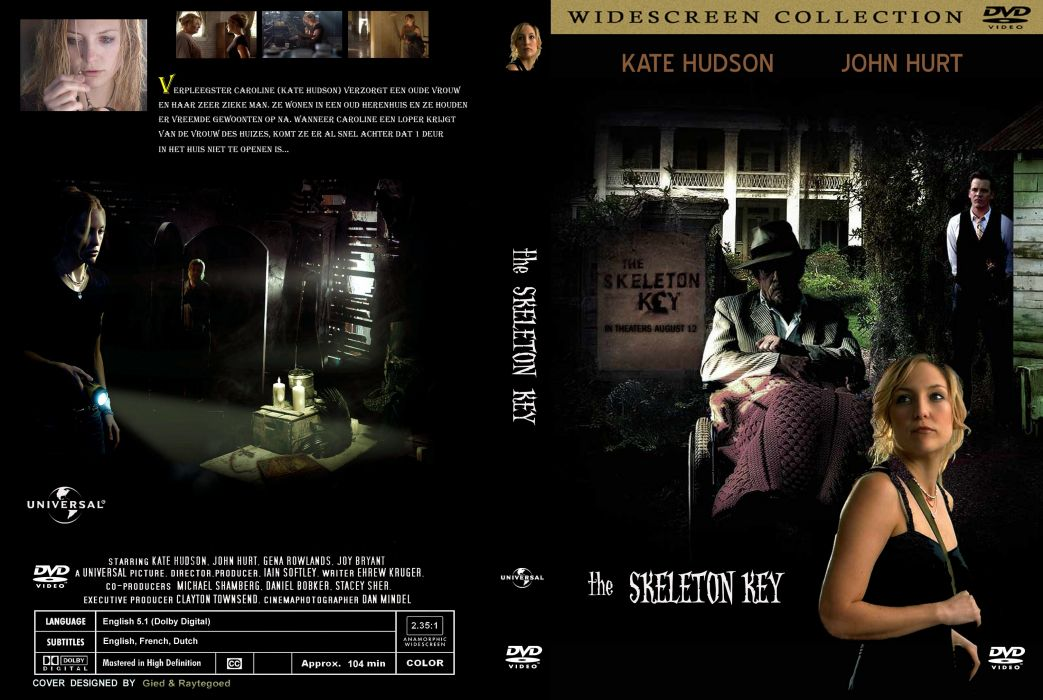 SKELETON KEY horror dark drama mystery voodoo supernatural 1skeletonkey skeletonkey kate hudson poster wallpaper