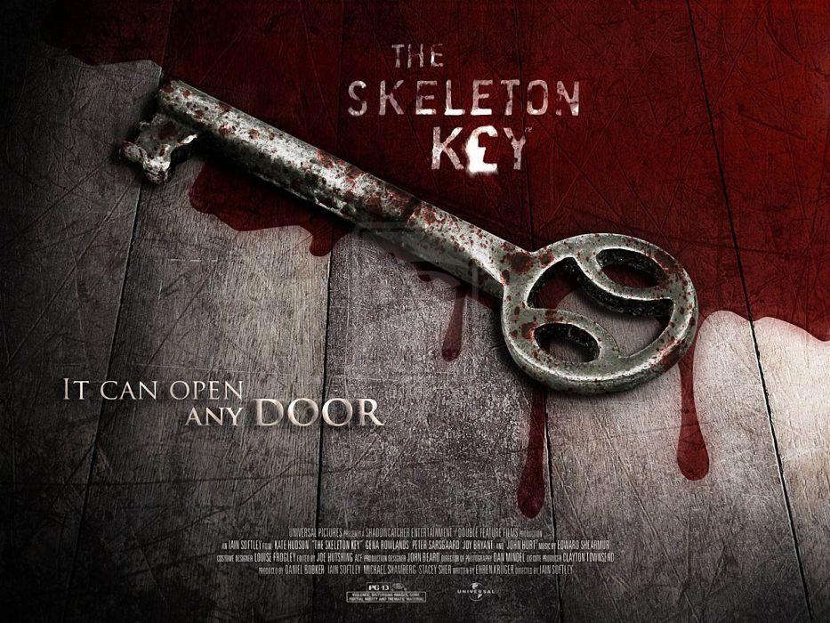 SKELETON KEY horror dark drama mystery voodoo supernatural 1skeletonkey skeletonkey kate hudson blood wallpaper
