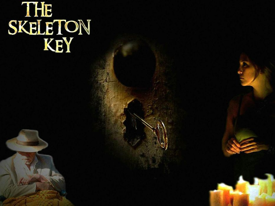 SKELETON KEY horror dark drama mystery voodoo supernatural 1skeletonkey skeletonkey wallpaper