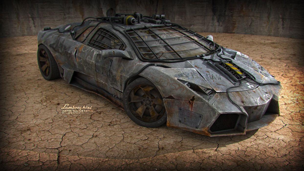Lamborghini Reventon Custom Nuclear Edition wallpaper