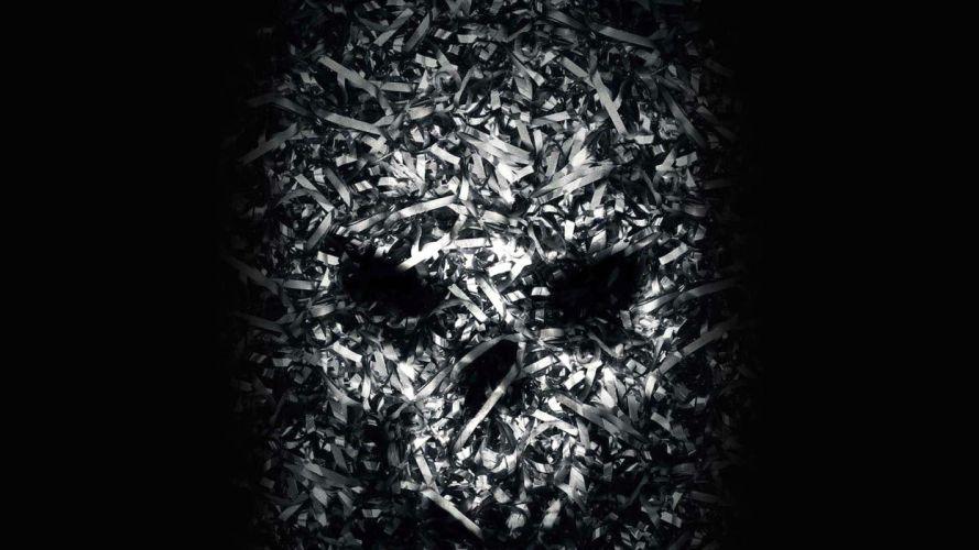 VHS VIRAL horror thriller dark 1vhsvirul skull psychedelic evil wallpaper