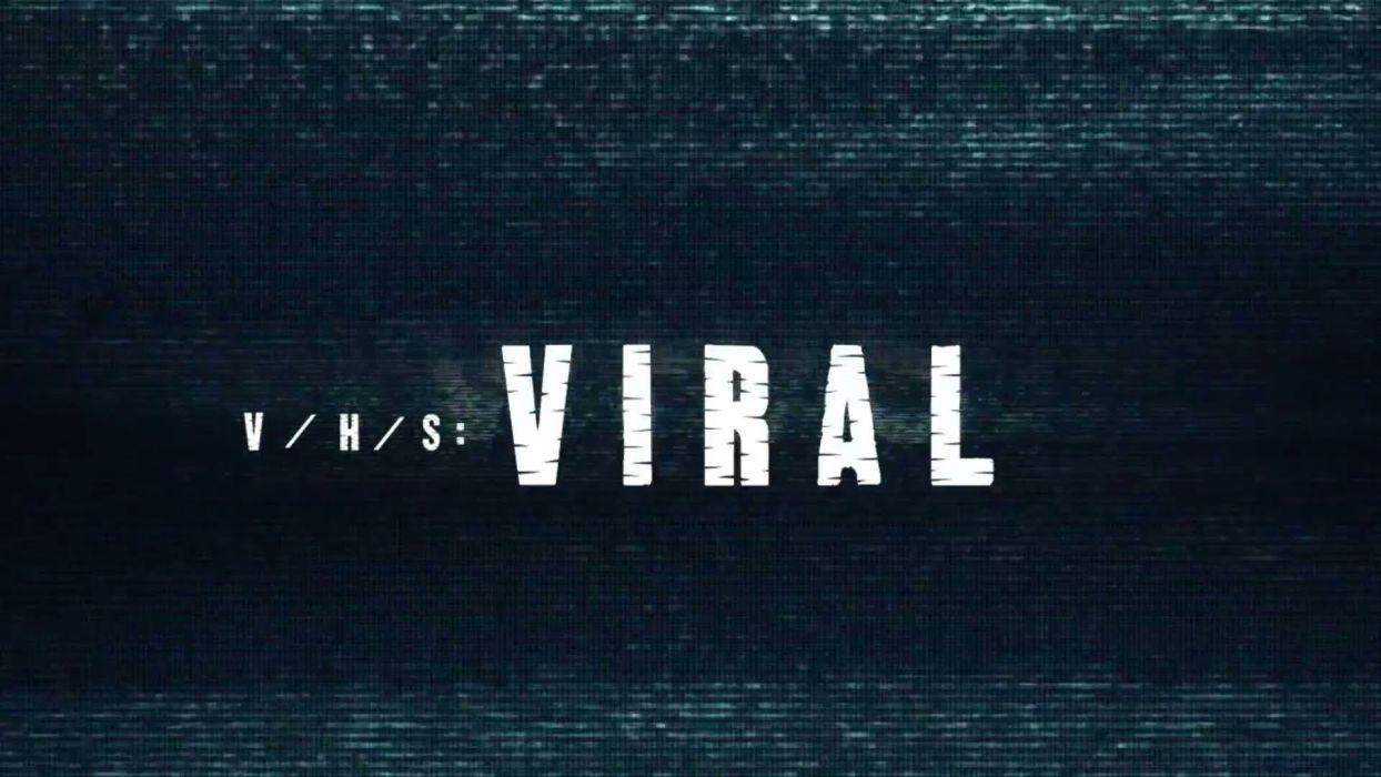 VHS VIRAL horror thriller dark 1vhsvirul poster wallpaper