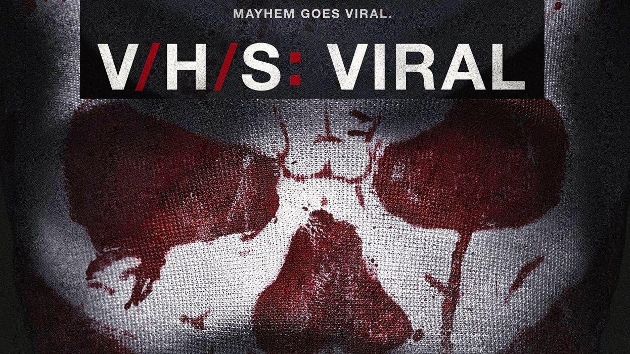 VHS VIRAL horror thriller dark 1vhsvirul poster skull evil wallpaper