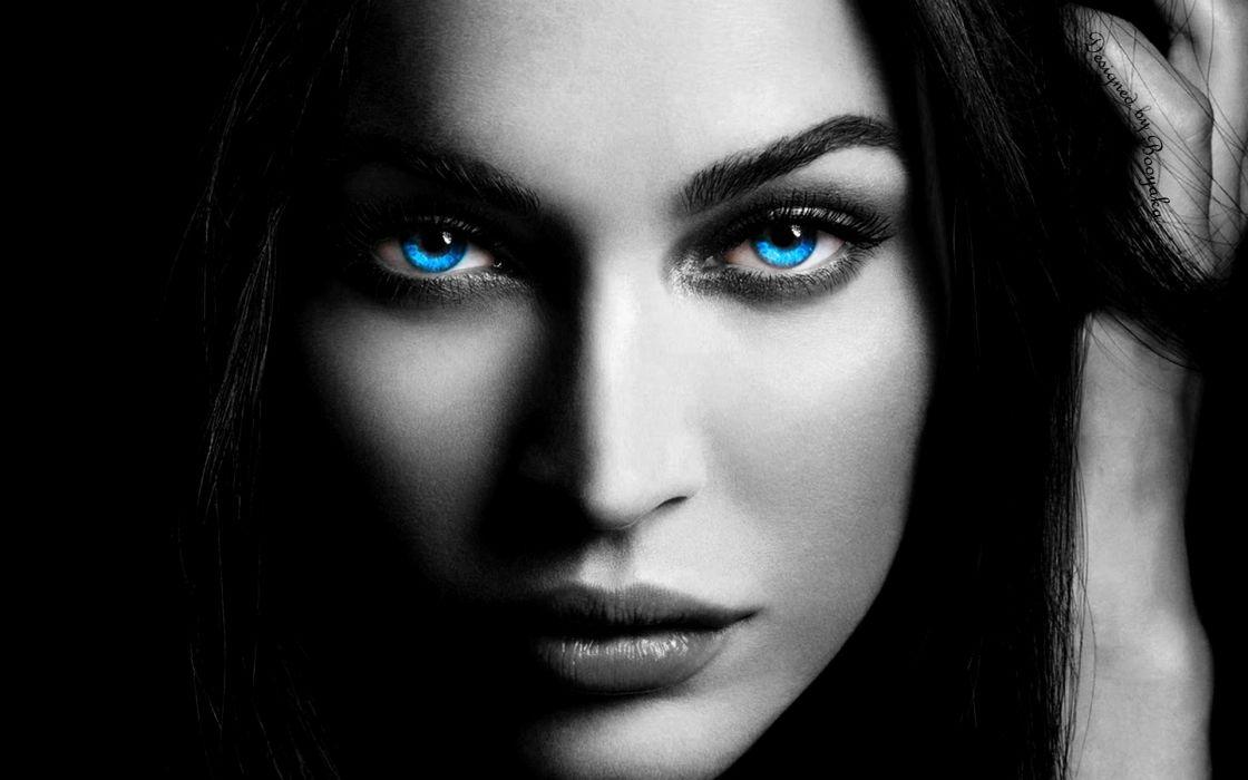 blue eyes by bkka619-d4eyuyf wallpaper